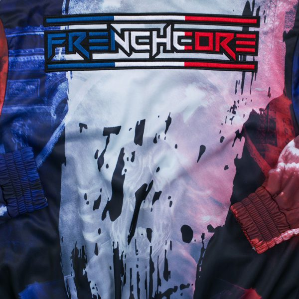 Frenchcore training jacket discount at 100% hardcore official webshop