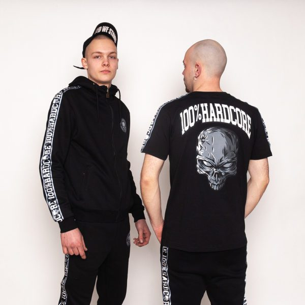 100% hardcore webshop illness collection worn by gabbers