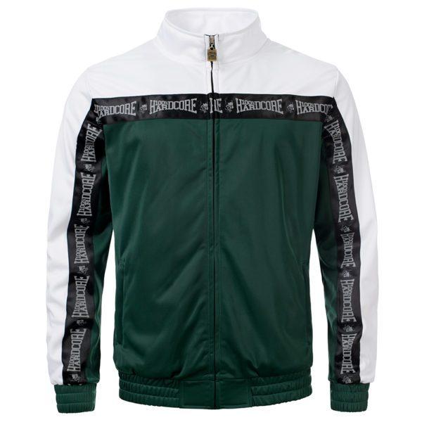 100% Hardcore oldschool gabber training jacket bies 2 tone official webshop