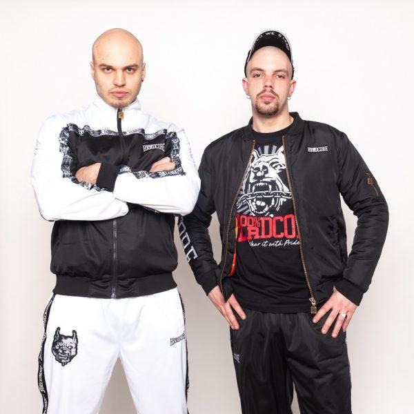 100% hardcore training jacket and bomber gabber oldschool official webshop