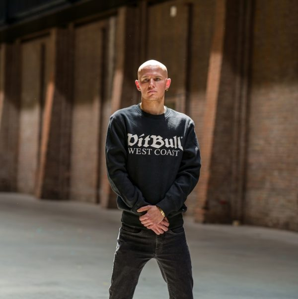 Pit bull west coast worn by gabbers for 100% Hardcore webshop