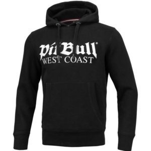Pit bull West Coast Streetwear Hooded Sweater classic old logo