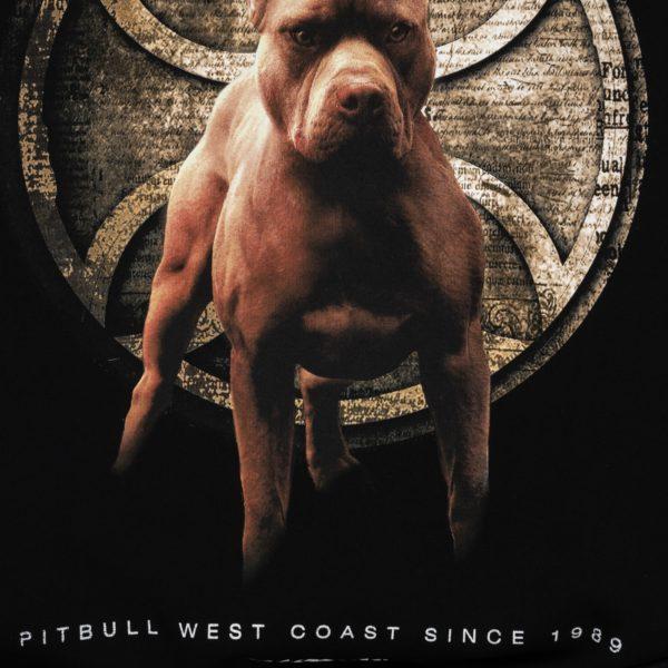 Pit Bull West Coast streetwear crewneck sweater classic dog print