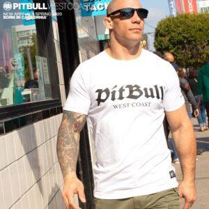 Pit bull west coast worn by MMA fighter. Streetwear 100% hardcore brand.