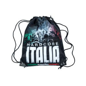 Hardcore Italia gabber backpack traxtorm records official webshop by 100% Hardcore