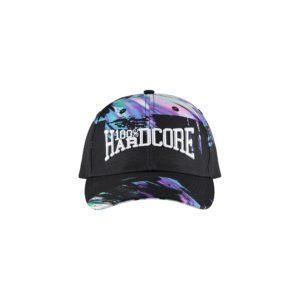 100% hardcore oldschool gabber print cap cavello official webshop merchandise