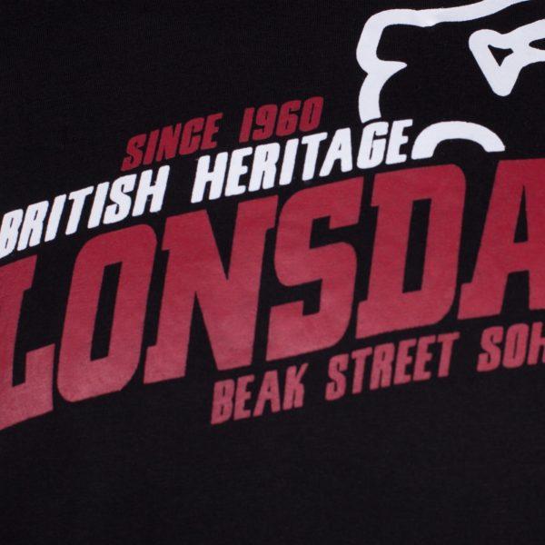 Lonsdale london classic line T-shirt lion hardcore brand gabberwear