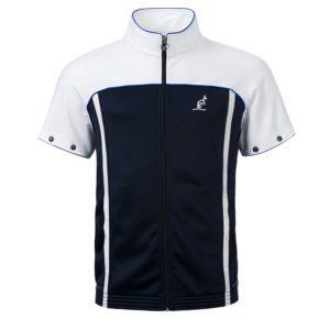 Australian oldschool training jacket gabber zipsleeves blue round hanger