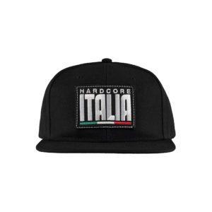 Hardcore italia cap embroidered gabber 100% hardcore merchandise