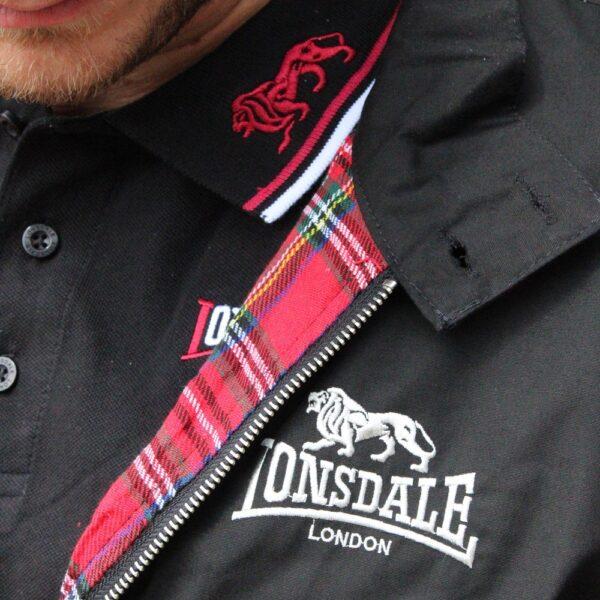 Lonsdale London polo and harrington oldschool gabber merchandise