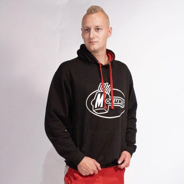 Mokum records sleeve hoodie with Australian pants