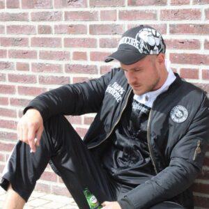 100% Hardcore gabber oldschool training suit and bomber jacket