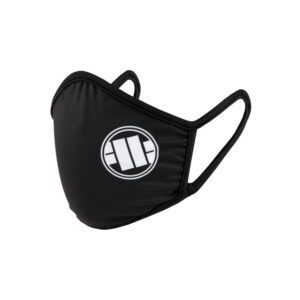 Pit Bull West Coast Covid facemask with old logo Gabber 100% hardcore
