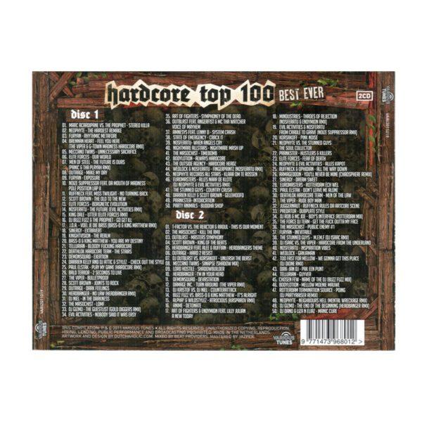 Hardcore top 100 CD Cloud Nine gabber oldschool remix album