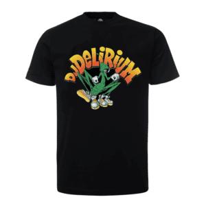 Official Dj Delirium clothing merchandise oldschool T-shirt at the 100% Hardcore webshop