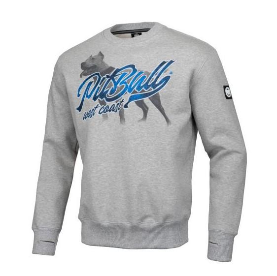 Pit Bull West Coast Hooded sweater colelction dog print 100% hardcore webshop
