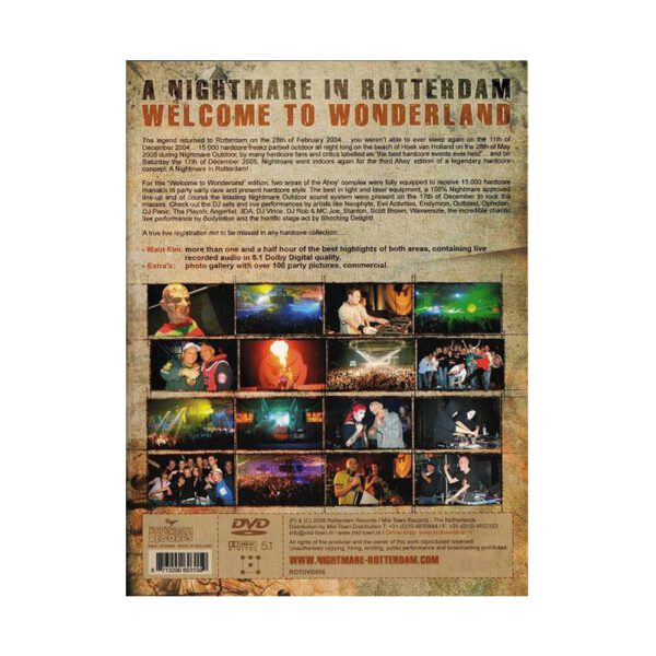 Nightmare in Rotterdam DVD by Neophyte and Rotterdam records