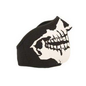 Facemask hardcore skull gabber festival covid mask