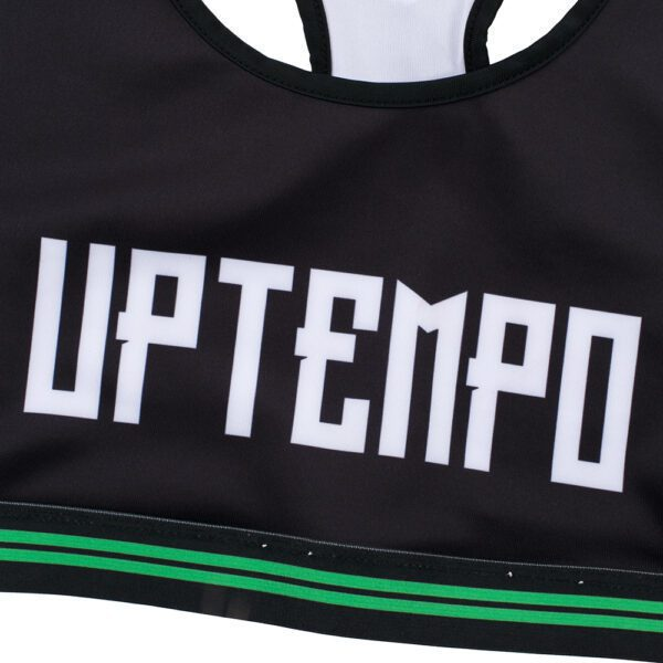 Uptempo sport top women black by 100% Hardcore collection webshop