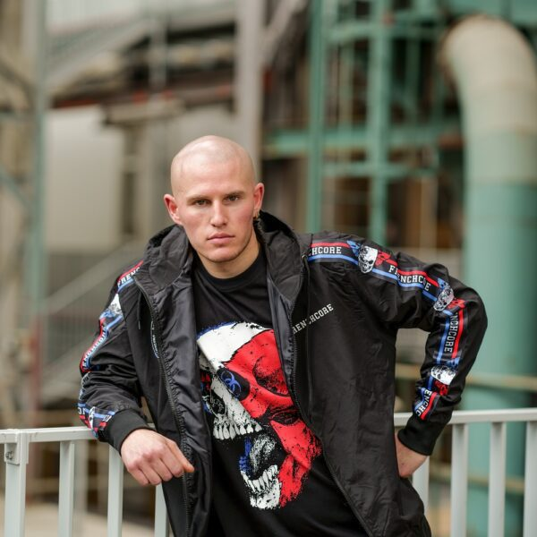 Frenchcore windbreaker collection by 100% hardcore for official webshop