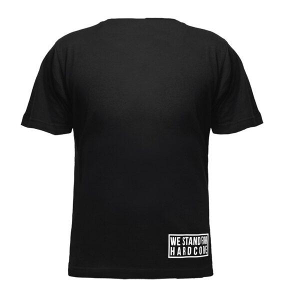 Traxtorm records and Hardcore Italia hooded sweater logo by 100% Hardcore