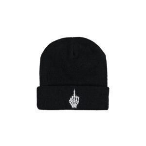 Uptempo beanies and caps by 100% Hardcore official gabber merchandise webshop