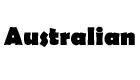 Australian logo for the official 100% Hardcore webshop