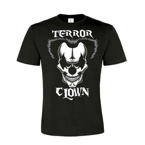 Terrorclown official merchandise at 100% Hardcore webshop gabber
