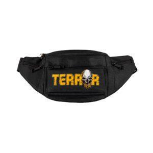 Terror streetwear hipbag skull gabber merchandise webshop by 100% Hardcore