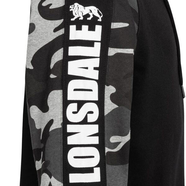 Lonsdale London hooded zipper camou streetwear 100% Hardcore webshop official
