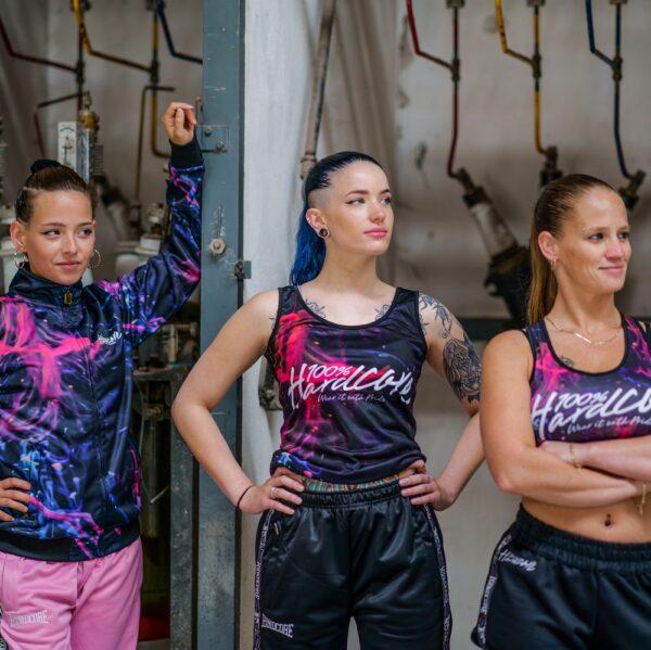 100% Hardcore women collection gabber training jacket