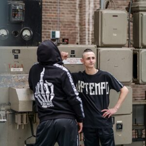 New Uptempo collection by 100% Hardcore webshop middlefinger