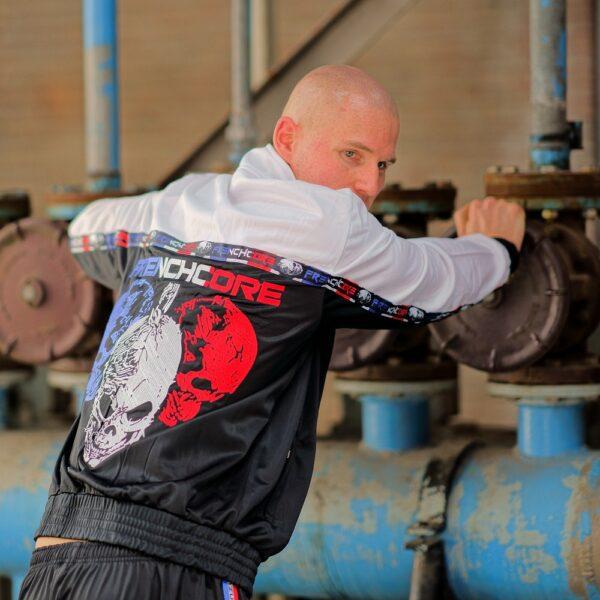 Frenchcore training jacket skull gabber by 100% Hardcore webshop