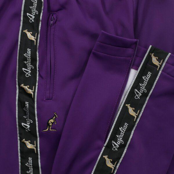 Oldschool purple Australian biesbroek taping gabber by 100% hardcore webshop official