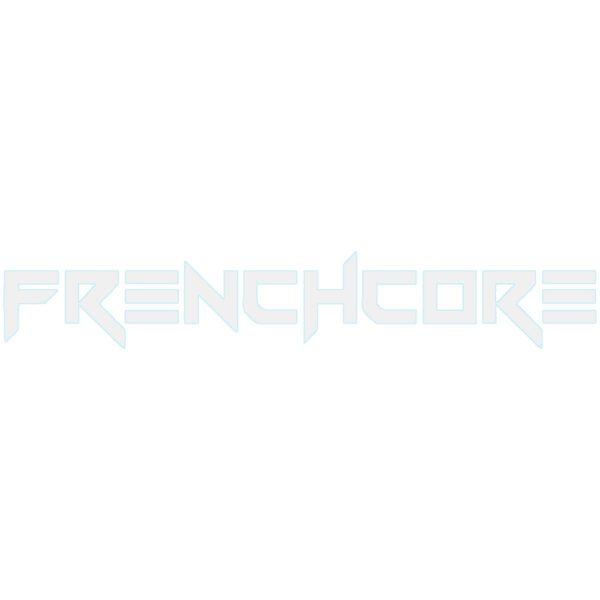 Frenchcore logo gabber 4 Life carsticker official webshop gabberwear
