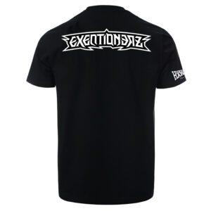 Exentionerz official 100% Hardcore DJ Merchandise T-shirt webshop