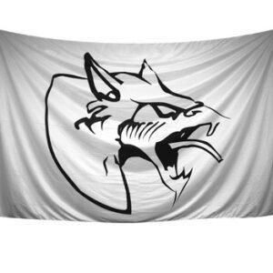 Neophyte records flag white oldschool gabber merchandise webshop
