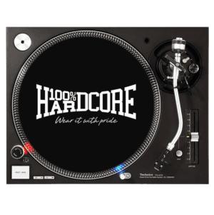 100% Hardcore gabber slipmat set technics vinyl oldschool official webshop