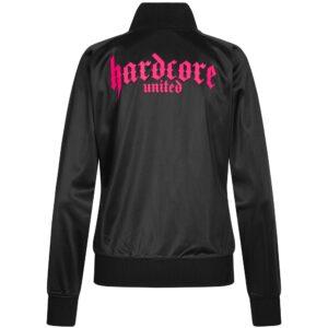 Hardcore United classic Training jacket women logo chest gabber oldschool german