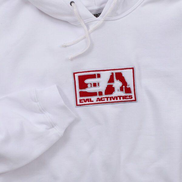 Evil Activities hooded sweater oldschool gabber merchandise by 100% Hardcore webshop