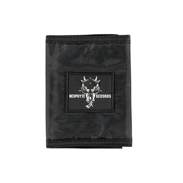 Gabber wallet Neophyte Records merchandise black, official 100% Hardcore webshop