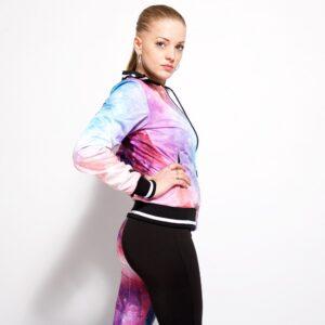 Muisz wearing the new 100% Hardcore women dream training collection