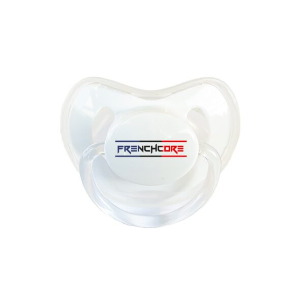 Frenchcore coloured baby soother collection official gabber clothing webshop