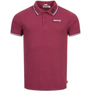 Lonsdale London classic polo lion red streetwear 100% hardcore official webshop