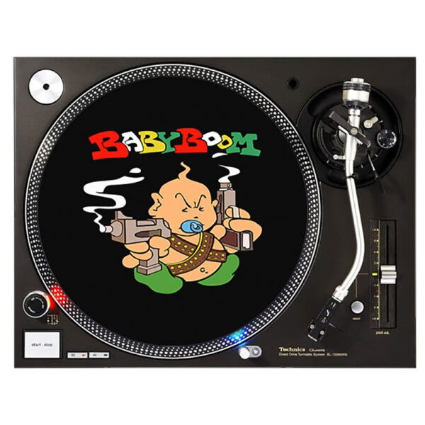 babyboom records slipmat gabber vinyl merchandise clothing