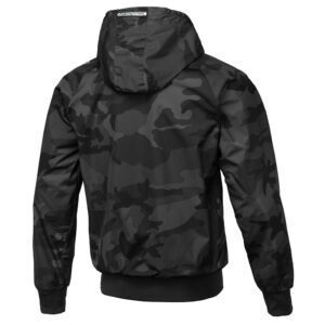 Pit Bull West Coast Windbreaker outdoor jacket dark camou print clothing collection streetwear
