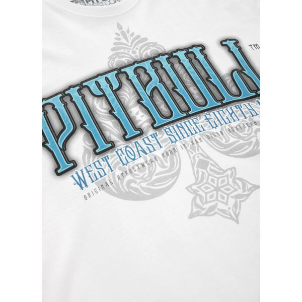 Pit Bull West Coast T-shirt skull white streetwear fighting webshop 100% Hardcore new collection