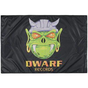 New Dwarf records logo flag oldschool gabber 100% Hardcore webshop