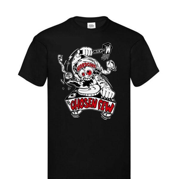 Dj Chosen Few mokum Tshirt oldschool gabber 1996 clothing early collection 100% Hardcore webshop