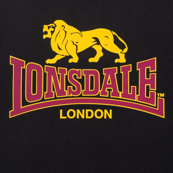 Lonsdale London classic black T-shirt streetwear summer collection new at 100% Hardcore gabber webshop